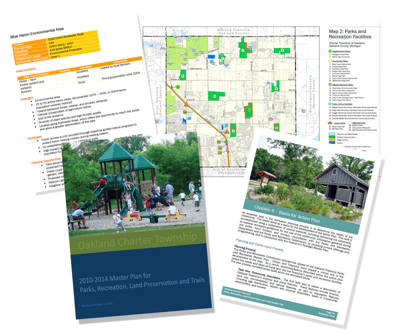 master plan for parks, recreation, open space, and trails