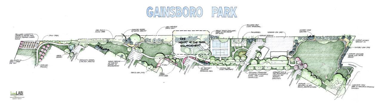 gainsboro park