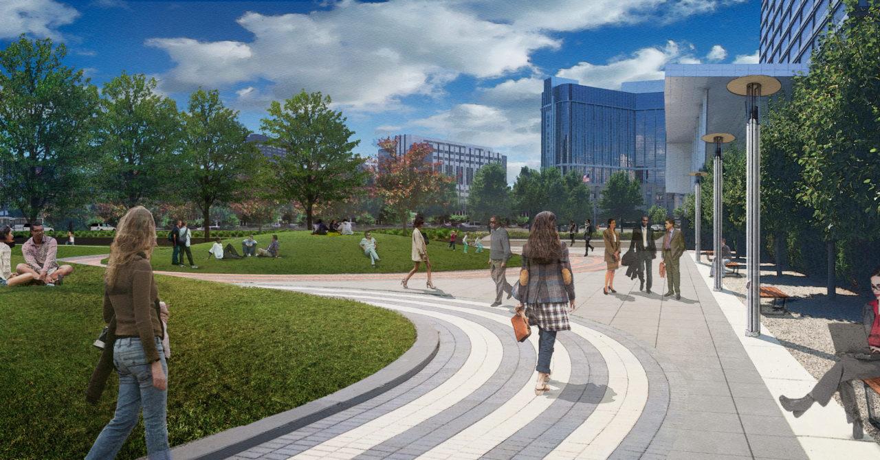 circle park promenade