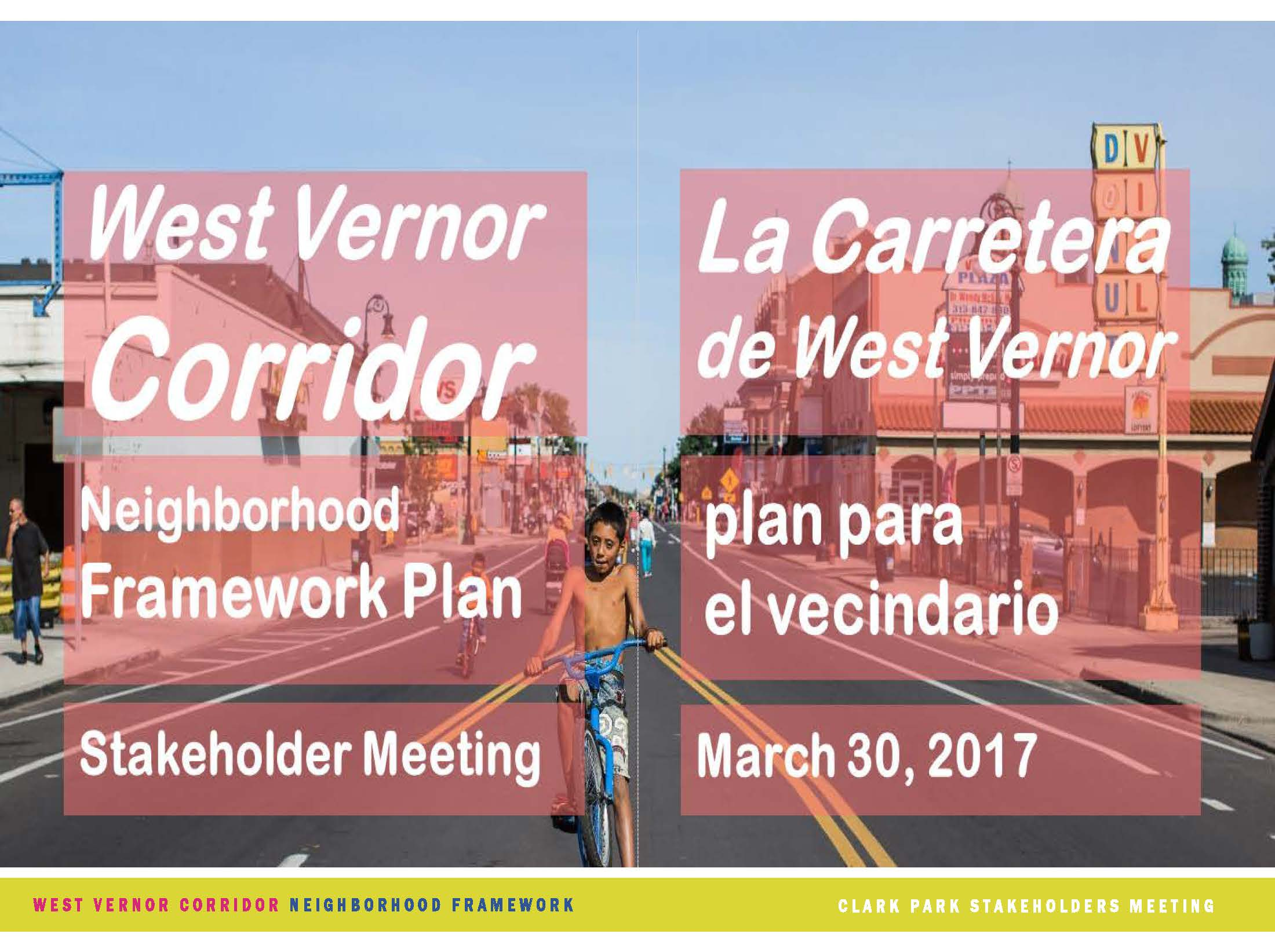 west vernor neighborhood framework plan