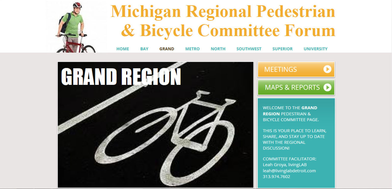 mdot bike-ped committee facilitation