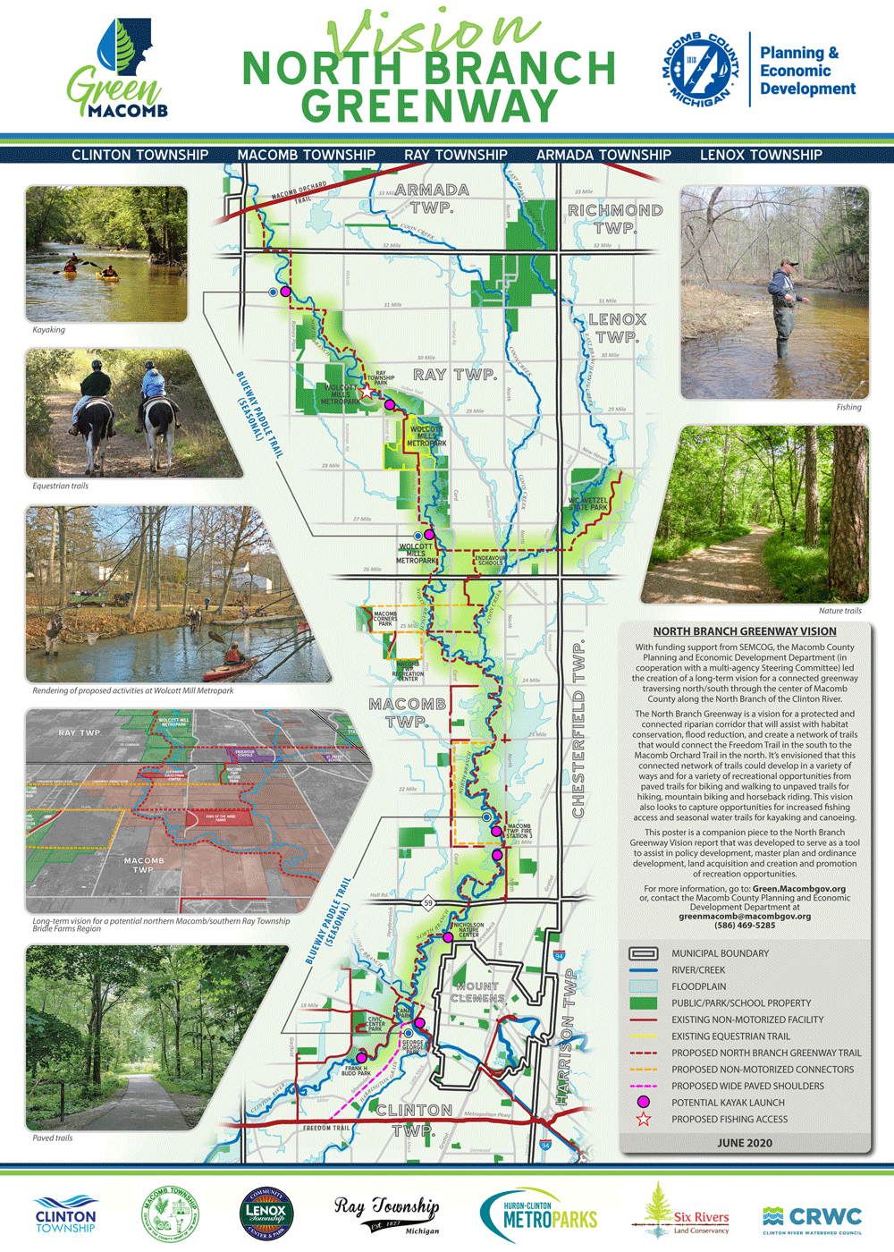 macomb north branch greenway plan